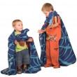 Boys wearing a blanket as a cape — Stock Photo
