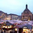 FleMarket at night in Neurenburg — Stock Photo #22113351
