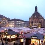 Flea Market at night in Neurenburg — Stock Photo #22113449