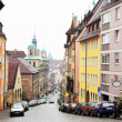 Streets and buildings in Neurenburg - Munich — Stock Photo #22113565