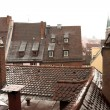 Rooftops of duildings in  Neurenburg - Munich — Stock Photo
