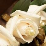 Wedding - flower decoration — Stock Photo