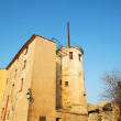 The Famous Ile Sainte Marguerite  Island Jail, across from Cannes, France — Foto de Stock