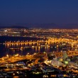 Veiw at night of Cape Town, South Africa — Stock Photo #22115433