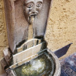 Old ornate public drinking fountain in Cannes, France -  