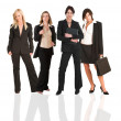 A group of young modern businesswoman — Stock Photo