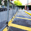 Parking barrier - Stock Photo