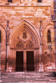Cathedral Entrance in Regensburg — Stock Photo