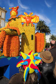 Spectators on the Citrus parade in Menton, France — Stock Photo