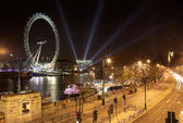 Gece, cityscape londra. — Stok fotoğraf