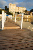 Private harbor in Juan Les Pins, France — Stock Photo