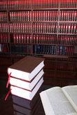 Juristische bücher — Stockfoto