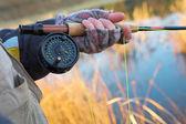 Flyfishing — Stock Photo