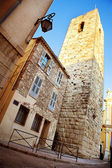 Old buildings in Antibes, France. — Fotografia Stock