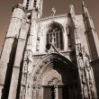 The Cathedrale Sainte Sauveur in Aix-en-Provence, France — Stock Photo