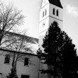 A church in Munich in the winter — Stockfoto