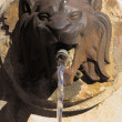 Stok fotoğraf: Lion head fountain in Aix-en-Provence, France