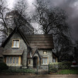 Haunted house in London — Stock Photo