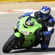 Stock Photo: High speed Superbike