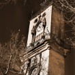 The clocktower of Hotel de Ville in Aix-en-Provence, France — Стоковая фотография
