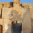 Entrance to the Fort de L'Ile Sainte-Marguerite, Cannes, France - Stock Photo