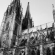 Cathedral in Regensburg - Stock Photo