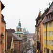 Streets and buildings in Neurenburg - Munich — Stock Photo #22126251