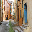 Street with old buildings in Cannes, France — Stock Photo