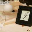 Royalty-Free Stock Photo: Table number four
