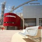 Outside Khalifa sports stadium in Doha, Qatar — Stock Photo #22129705