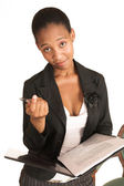 African business woman — Stock Photo
