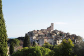 The small hilltop town of St Paul, France — Stock Photo
