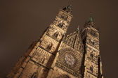 Church in Neurenburg at nighttime. — Stock Photo