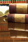юридические книги — Стоковое фото