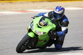 High speed Superbike — Stock Photo