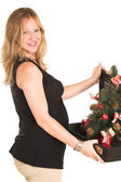 Pregnant Business Woman — Stock Photo