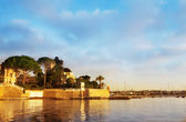 Private Harbour in Juan Les Pins - France — Stock Photo