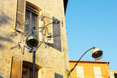 Old buildings in Antibes, France. — Stock Photo