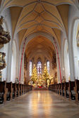 Interior of church in Kirchberg, Germany. — Stock Photo