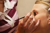 Bruiloft make-up sessie — Foto de Stock