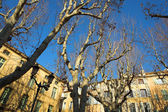 Buildings in Aix-en-provence — Stock Photo