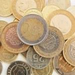 Turkish coins — Stock Photo