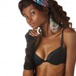 Beautiful african woman — Stock Photo