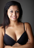 Young voluptuous Indian adult woman — Stock Photo