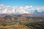 Franschhoek landschap — Stockfoto