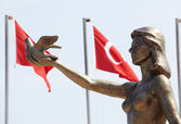 Turkish Peace Monument — Stock Photo