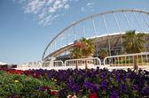 Khalifa-stadion — Stockfoto