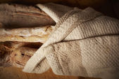 Fresh homemade bread — Stock Photo