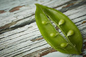 Sugar snap peas — Stock Photo