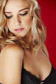 Sexy blonde woman — Stock Photo
